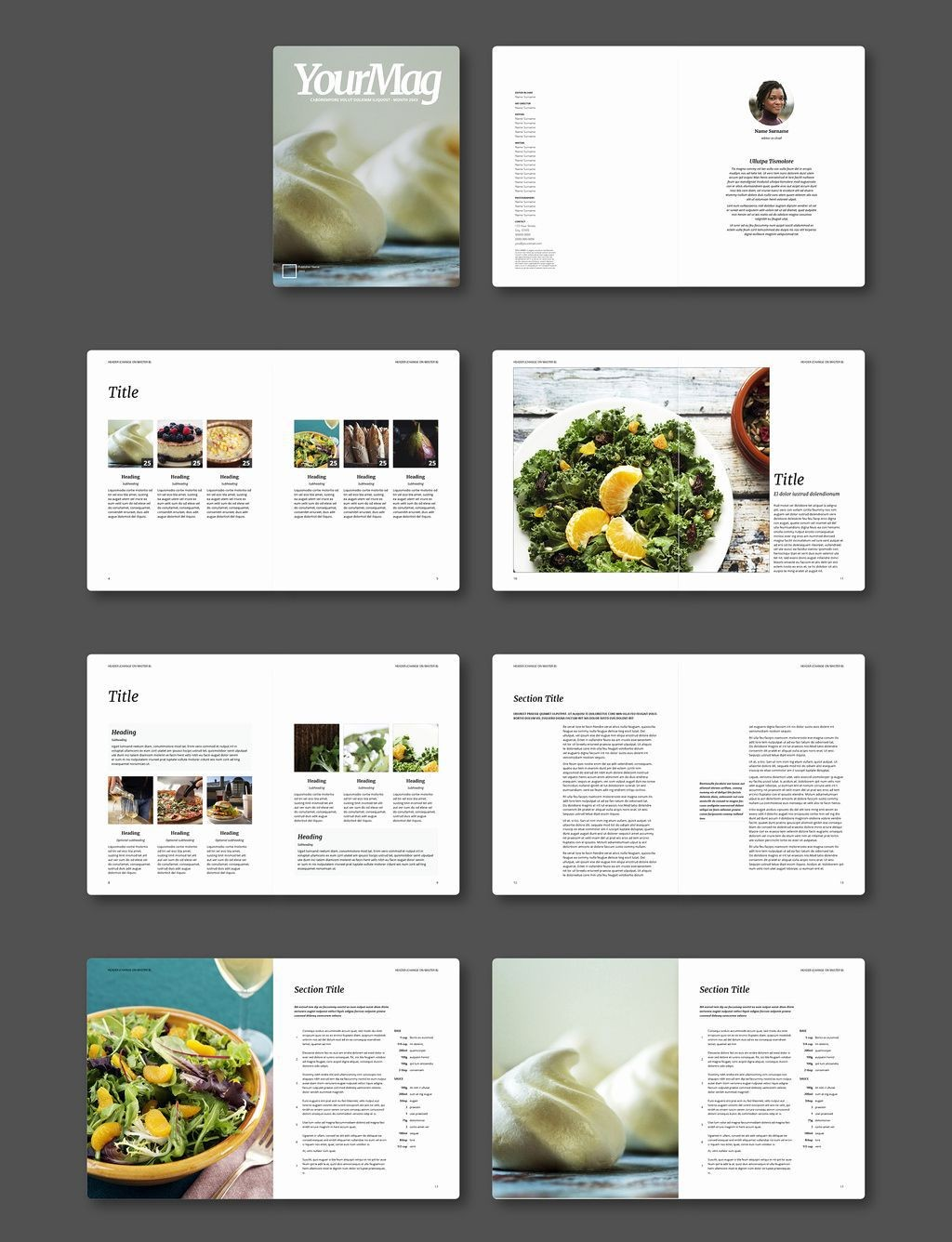 000 Fearsome Adobe Indesign Newsletter Template Free Download Inspiration Large
