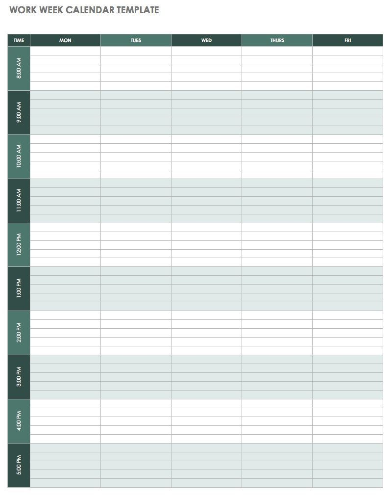 000 Fearsome Excel Weekly Planner Template High Resolution  Meal Appointment Calendar FreeFull