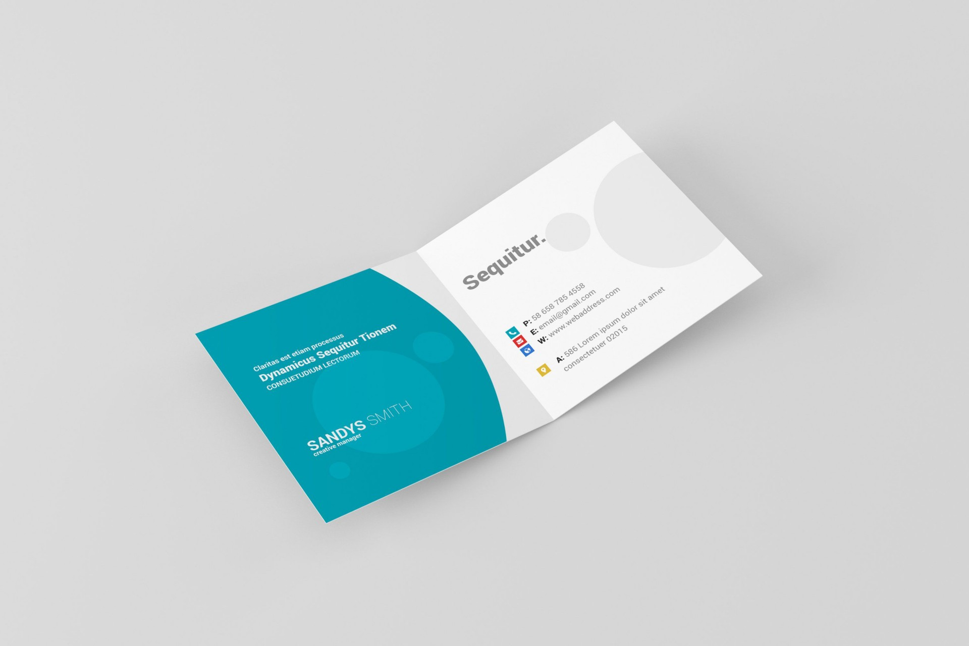000 Fearsome Folded Busines Card Template Sample  Templates Publisher Free Download Tri Fold Word1920