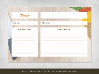 000 Fearsome Free 4x6 Recipe Card Template For Microsoft Word Concept  Editable320