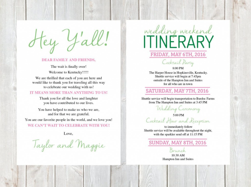 000 Fearsome Free Destination Wedding Welcome Letter Template Sample Large