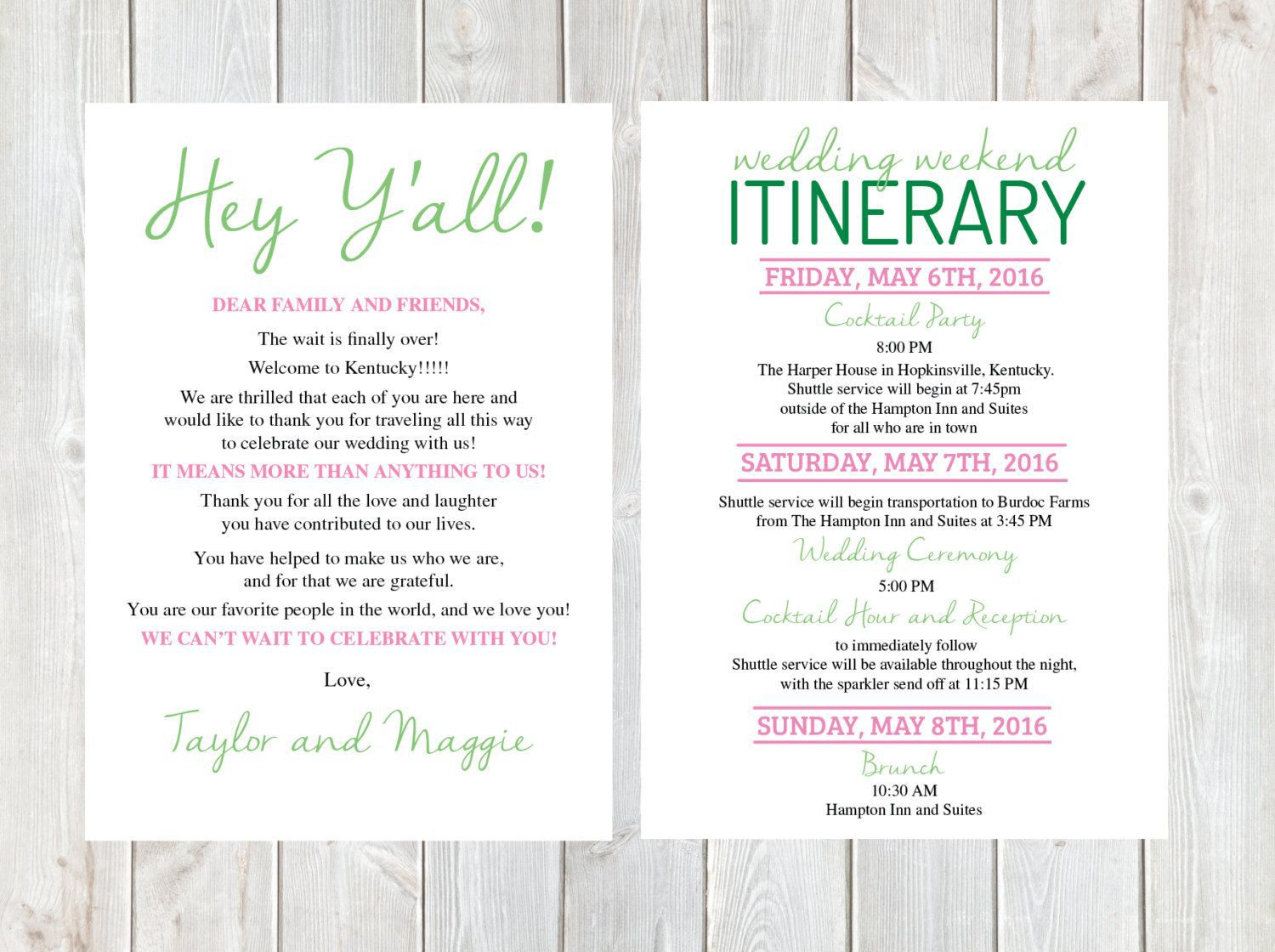 000 Fearsome Free Destination Wedding Welcome Letter Template Sample Full