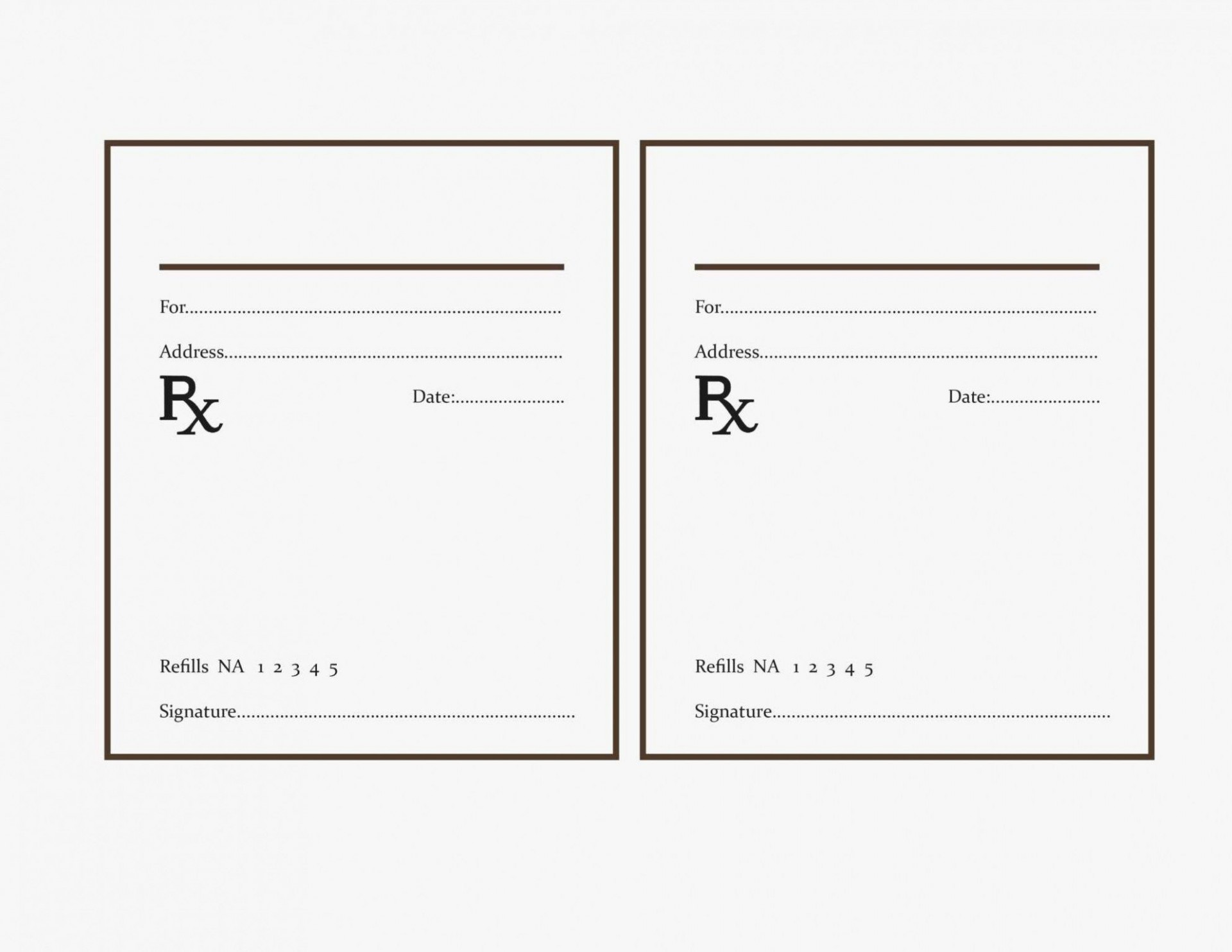 000 Fearsome Free Fake Prescription Label Template Example 1920