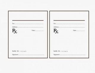 000 Fearsome Free Fake Prescription Label Template Example 320