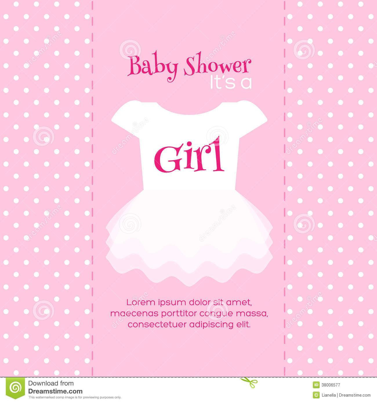 000 Fearsome Free Girl Baby Shower Invitation To Print Picture  Printable TwinFull