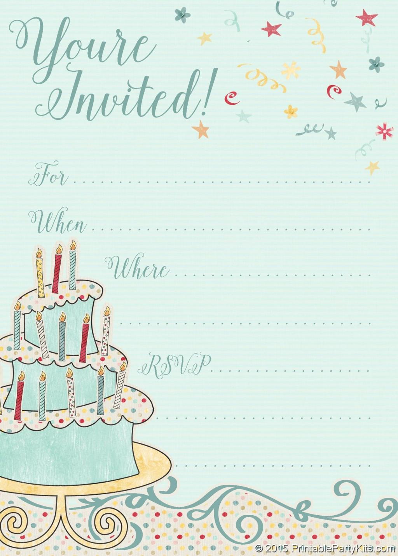 000 Fearsome Free Online Birthday Invitation Maker Printable Design  1st CardLarge