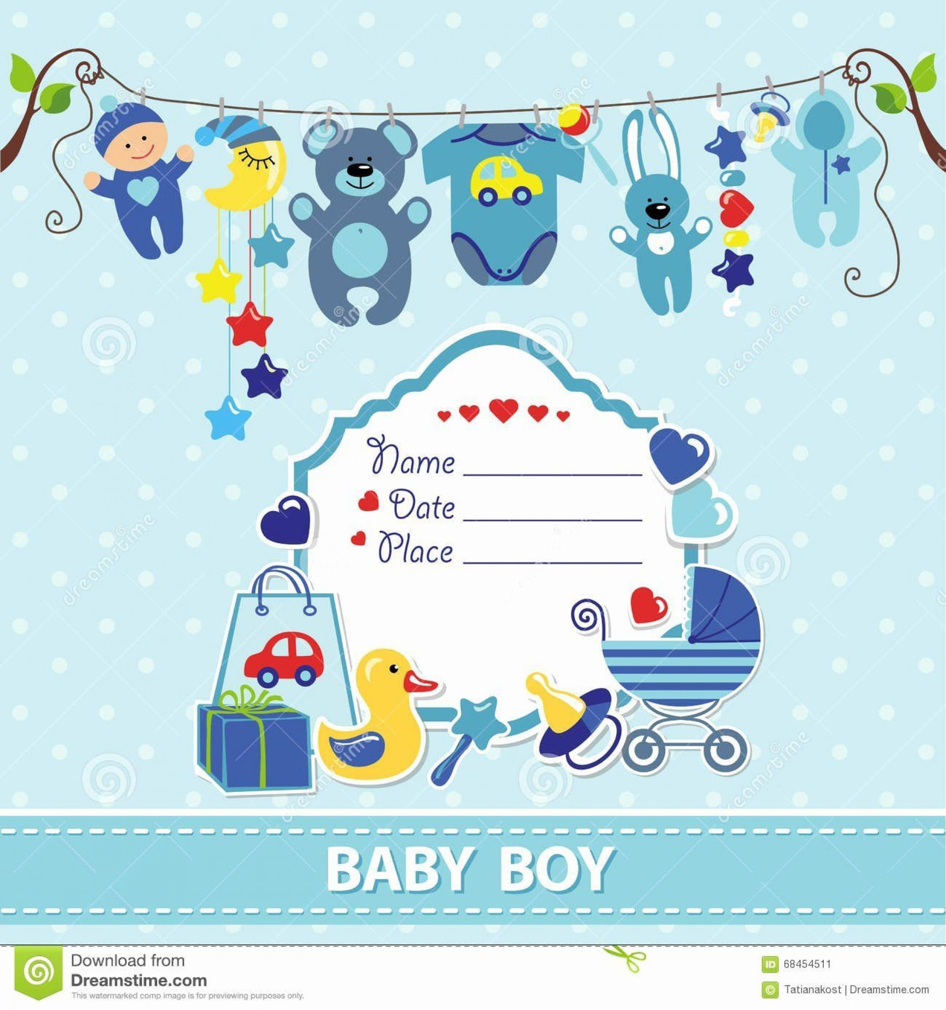 000 Fearsome Free Printable Baby Shower Card For Boy High Definition  Bingo1920