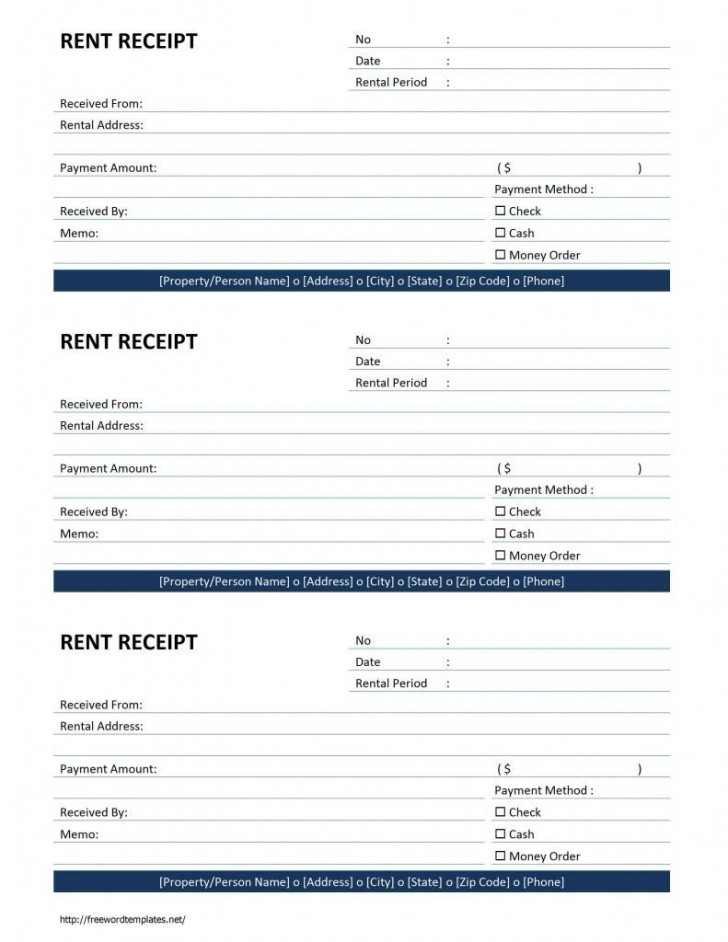 000 Fearsome House Rent Receipt Template India Doc Concept  Format Download728