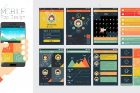000 Fearsome Mobile App Design Template Example  Size Adobe Xd Ui Psd Free Download