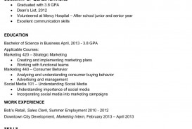 000 Fearsome Recent College Graduate Resume Template High Def  Word