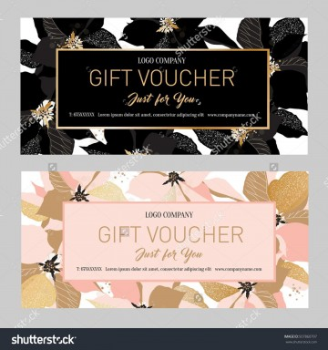 000 Fearsome Salon Gift Certificate Template Sample 360