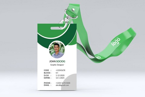 000 Fearsome Student Id Card Template Picture  Free Psd Download Word School480