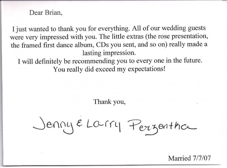 000 Fearsome Wedding Thank You Note Template Highest Quality  Bridal Shower Format Money728