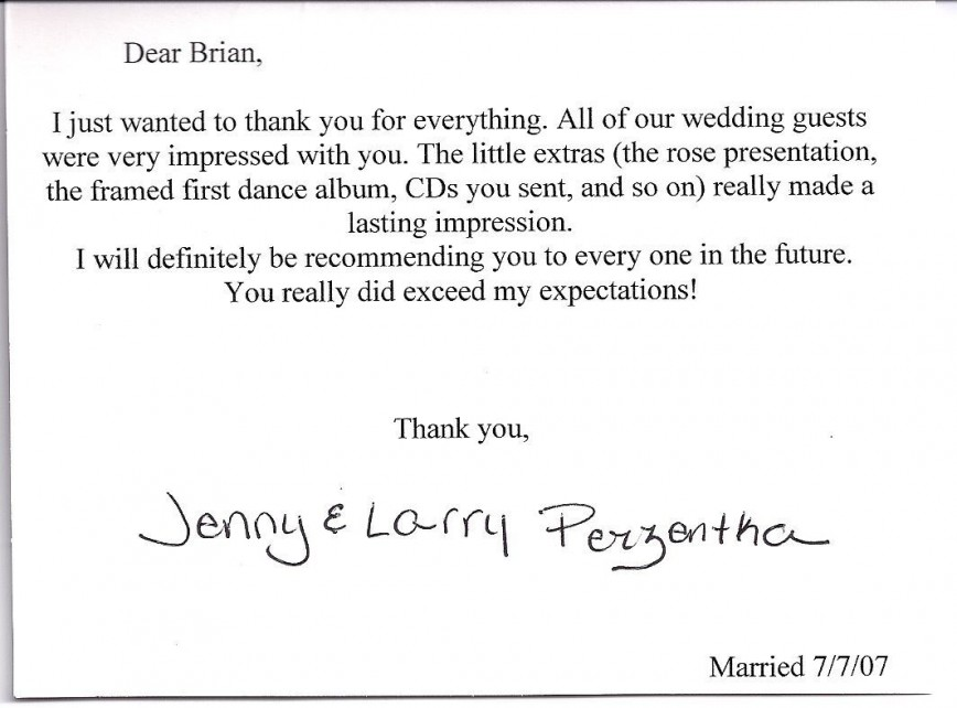 000 Fearsome Wedding Thank You Note Template Highest Quality  Bridal Shower Format Money868