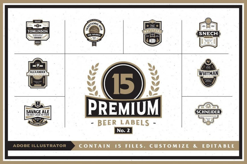 000 Formidable Beer Label Template Word Highest Quality  Free Bottle