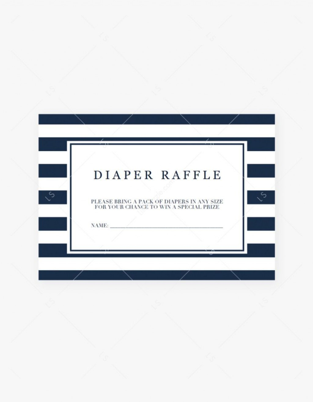000 Formidable Diaper Raffle Ticket Template Concept  Boy Free Printable Print Black And WhiteLarge