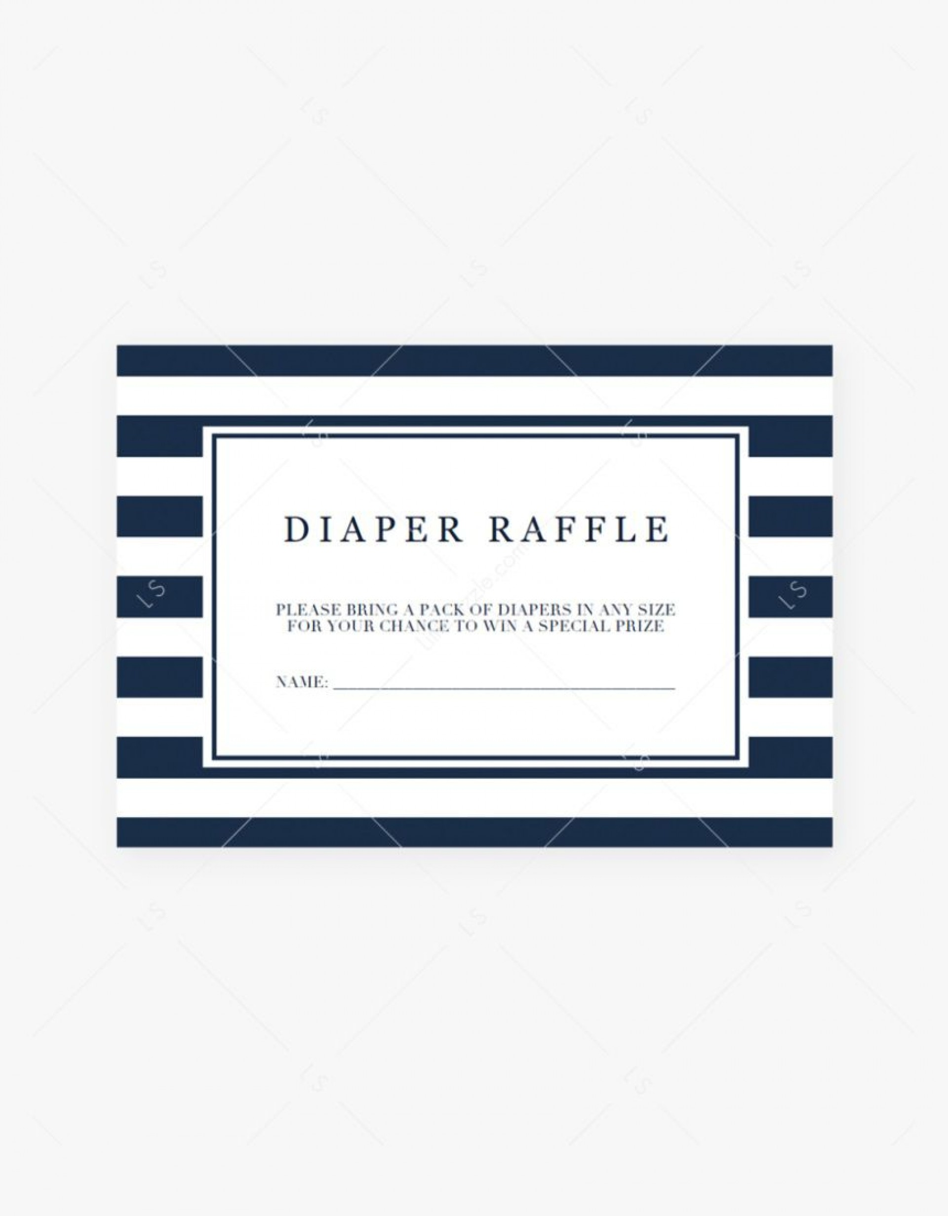 000 Formidable Diaper Raffle Ticket Template Concept  Boy Free Printable Print Black And White1920
