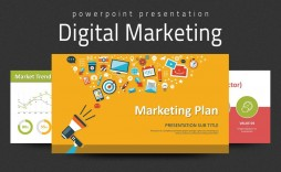 000 Formidable Digital Marketing Plan Template Free High Def  Ppt Word
