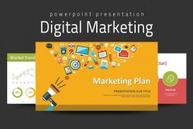000 Formidable Digital Marketing Plan Template Free High Def  Ppt Download