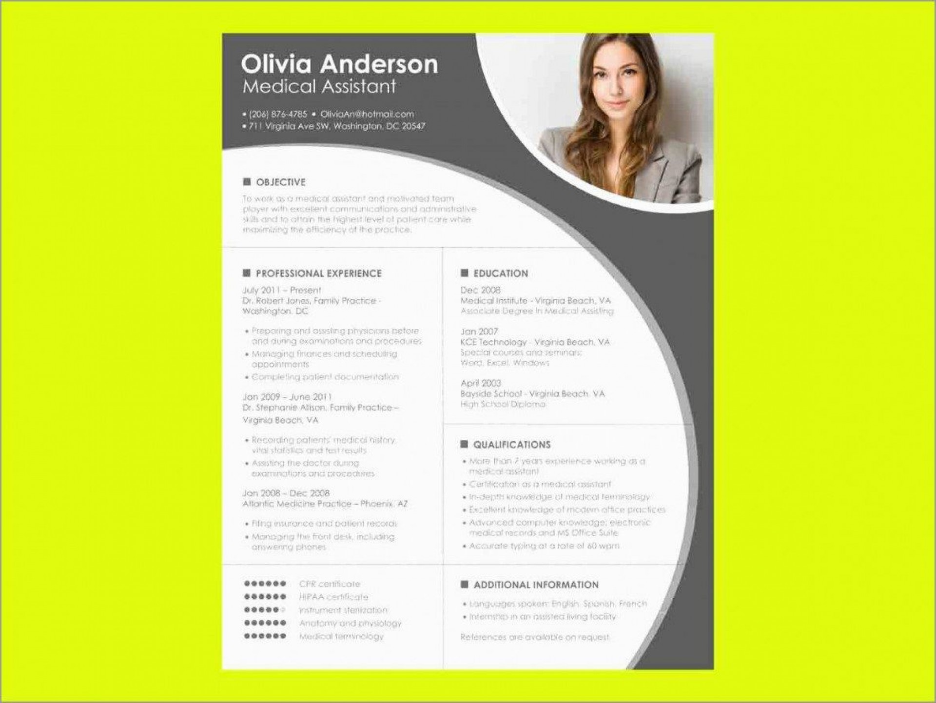 000 Formidable Download Resume Template Word 2007 Inspiration 1920