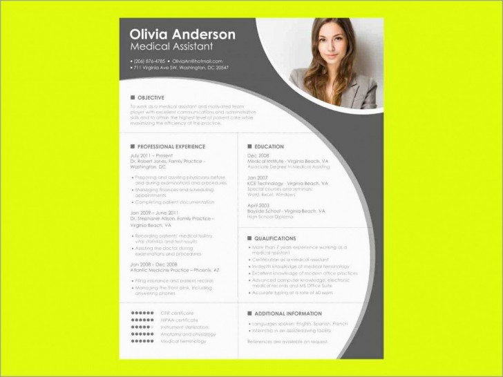 000 Formidable Download Resume Template Word 2007 Inspiration 728
