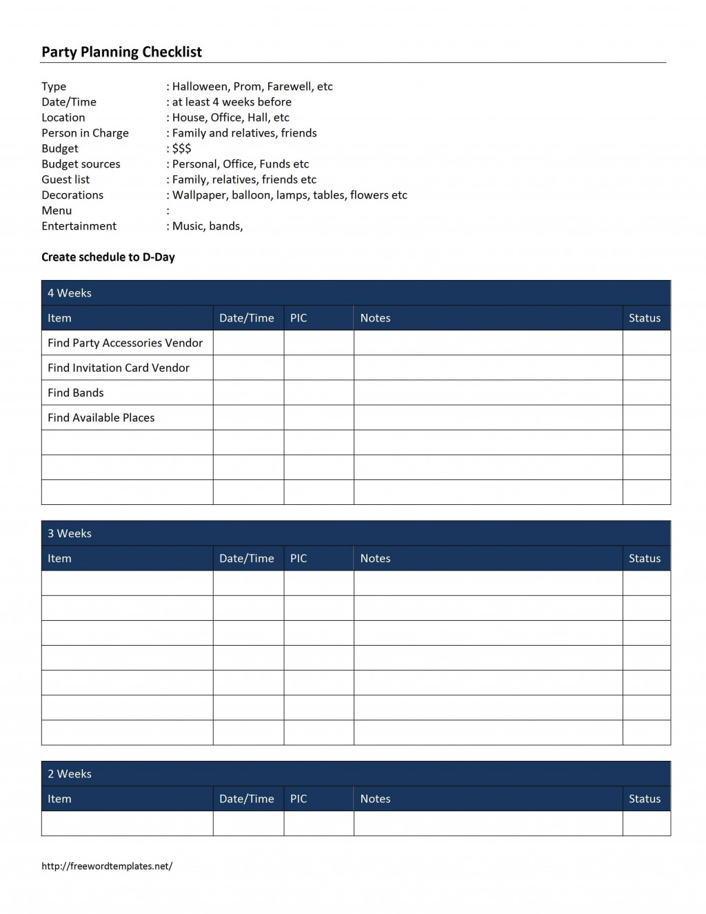 000 Formidable Free Event Planning Template Checklist High Def  Planner PartyLarge