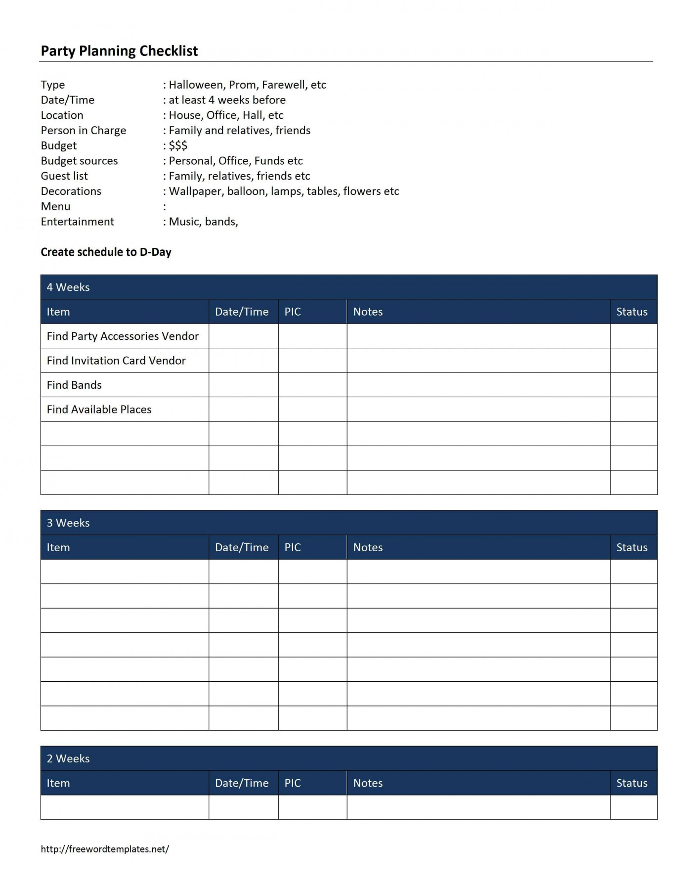 000 Formidable Free Event Planning Template Checklist High Def  Planner Party1400