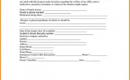 000 Formidable Free Printable Medical Consent Form Template High Definition