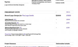 000 Formidable Graphic Design Proposal Template Doc Free Idea