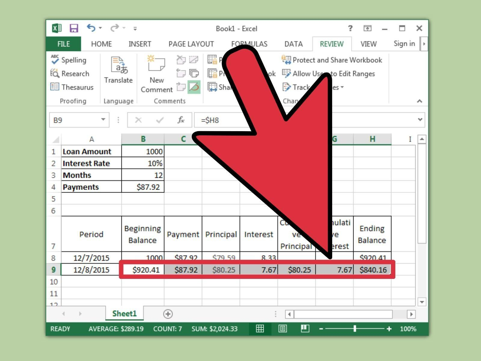 Loan Amortization Table Excel Template from www.addictionary.org