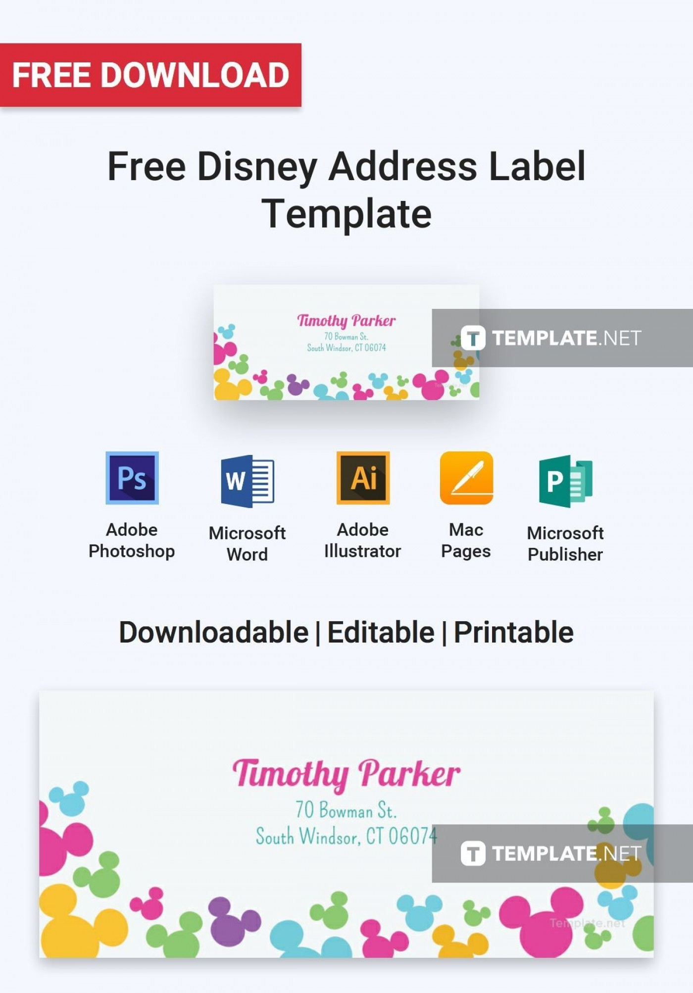 000 Frightening Addres Label Template For Mac Page Idea  Return Avery 51601400