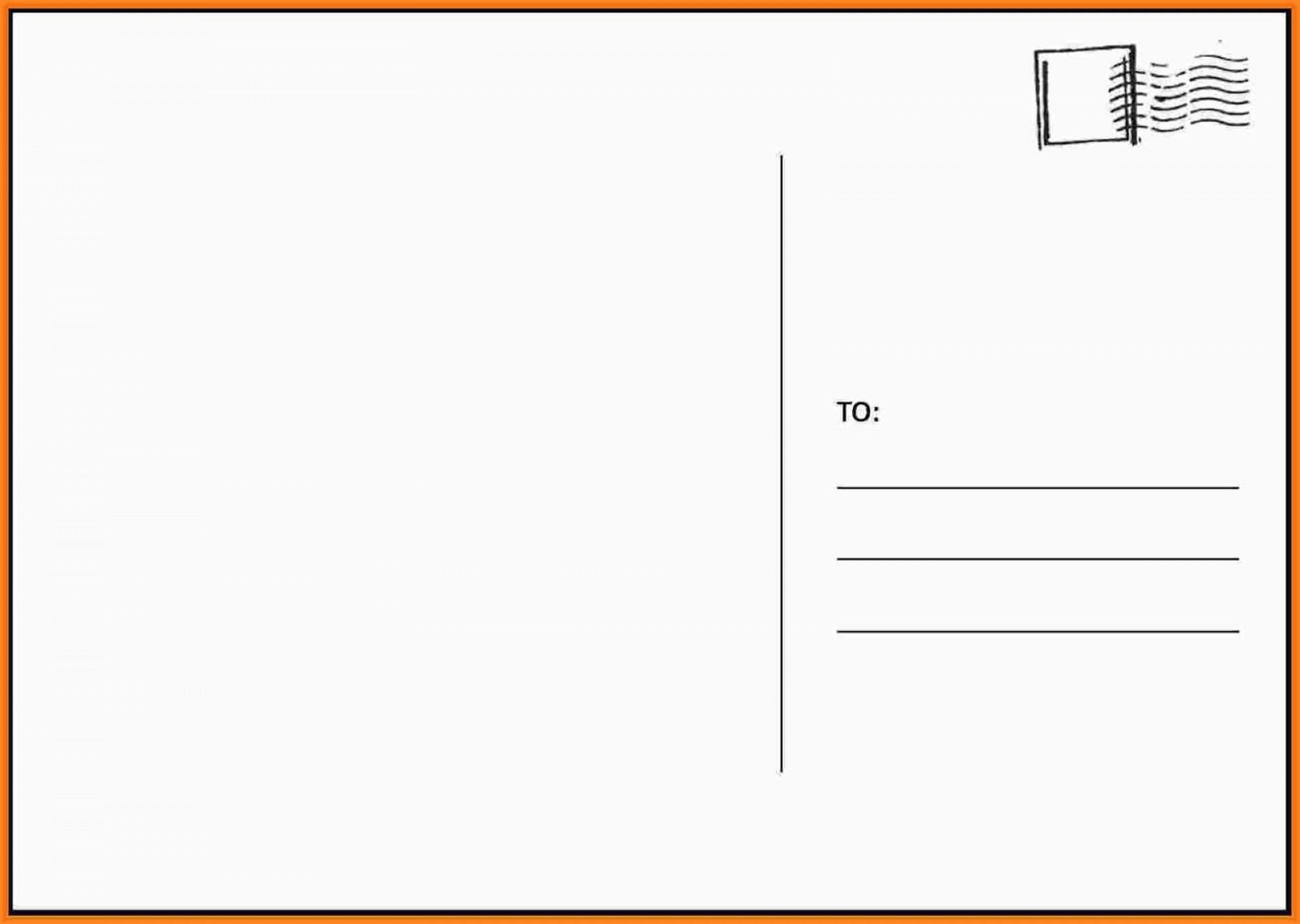 000 Frightening Busines Postcard Template Microsoft Word Sample 1920