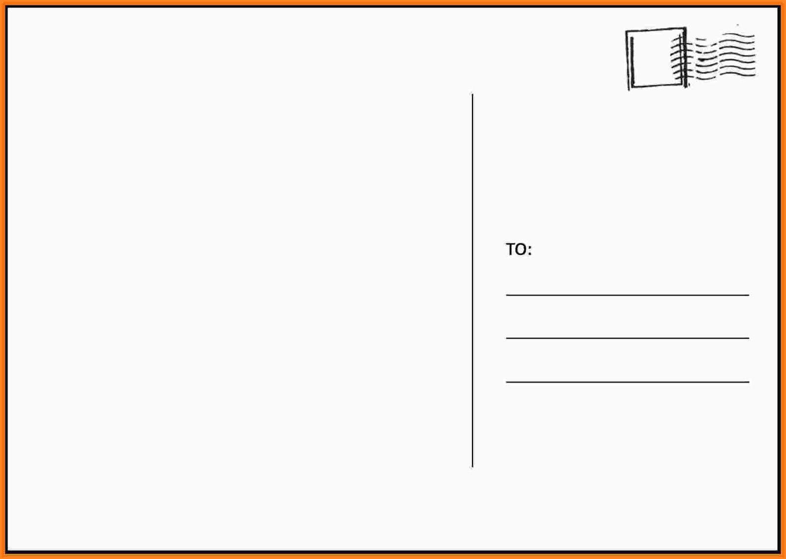 000 Frightening Busines Postcard Template Microsoft Word Sample Full