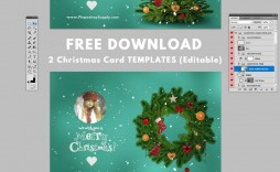 000 Frightening Christma Card Template Free Download High Definition  Downloads Photoshop Photo Editable