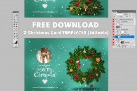 000 Frightening Christma Card Template Free Download High Definition  Photo Xma Place