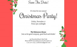 000 Frightening Christma Party Invitation Template Idea  Holiday Word Free Microsoft Editable