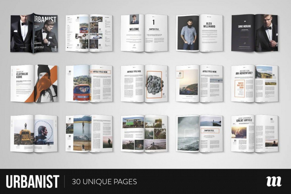 000 Frightening Free Magazine Article Layout Template For Word Design Large