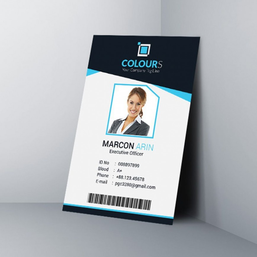 000 Frightening Id Badge Template Free Online Concept