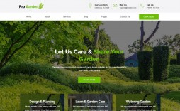 000 Frightening Lawn Care Website Template Sample