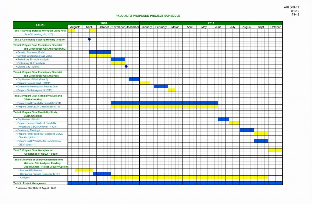 000 Frightening Simple Project Management Plan Template Excel Idea Large
