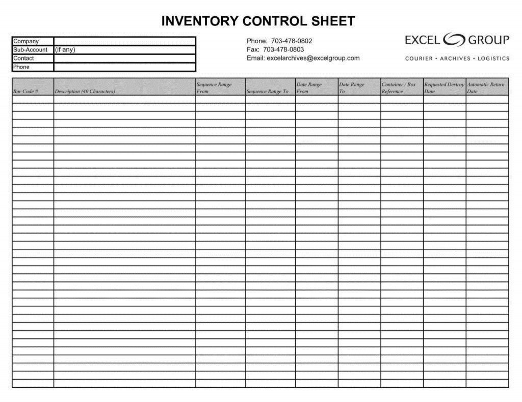 000 Frightening Stock Inventory Control Template Excel Free Inspiration Large