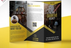 000 Frightening Three Fold Brochure Template Psd Inspiration  Free 3 A4 Tri Download