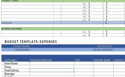 000 Frightening Video Production Budget Template Example  Excel Sample