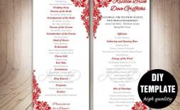 000 Frightening Wedding Program Template Free Download High Definition  Downloadable Pdf Reception Microsoft Word Fan