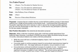 000 Frightening Writing A Job Proposal Template Sample High Definition