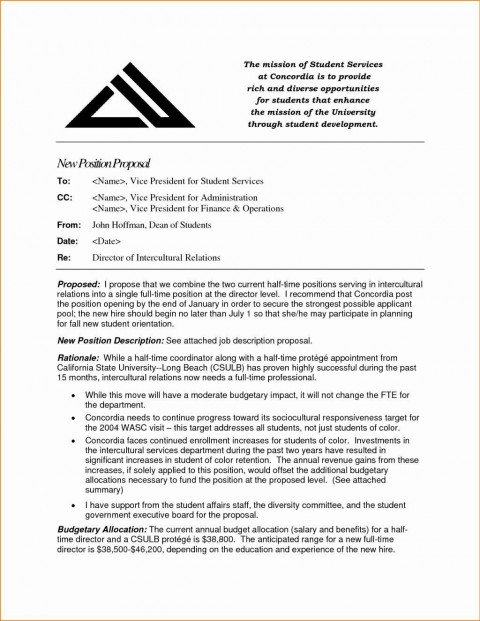 000 Frightening Writing A Job Proposal Template Sample High Definition 480