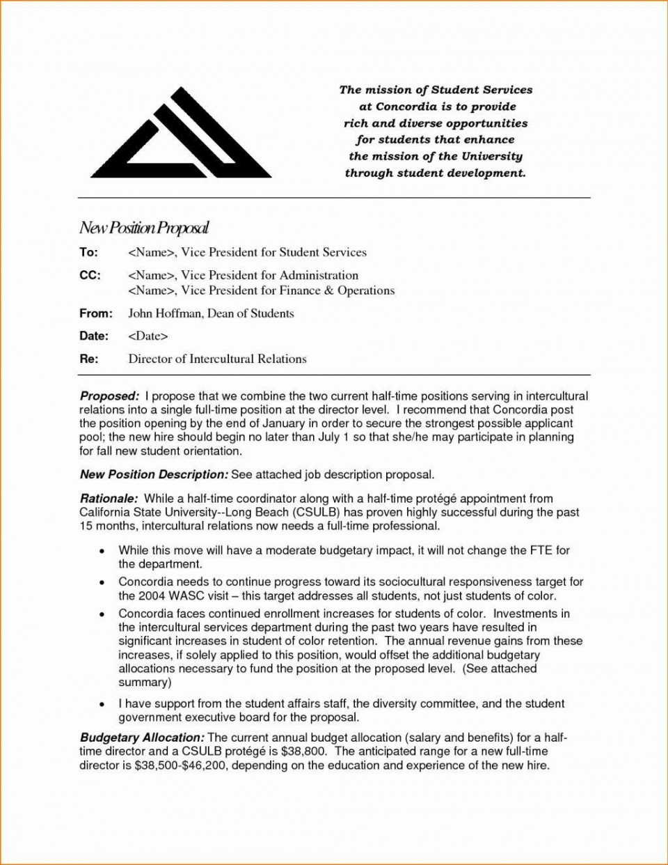 000 Frightening Writing A Job Proposal Template Sample High Definition 960