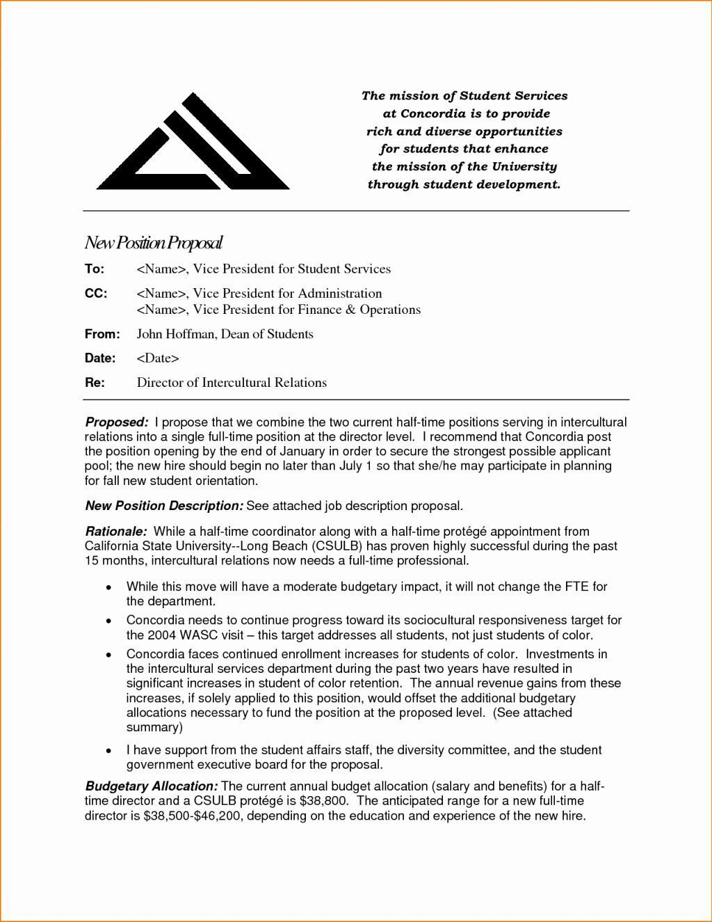 000 Frightening Writing A Job Proposal Template Sample High Definition Full