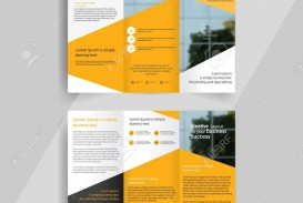 000 Imposing 3 Fold Brochure Template Concept  For Free