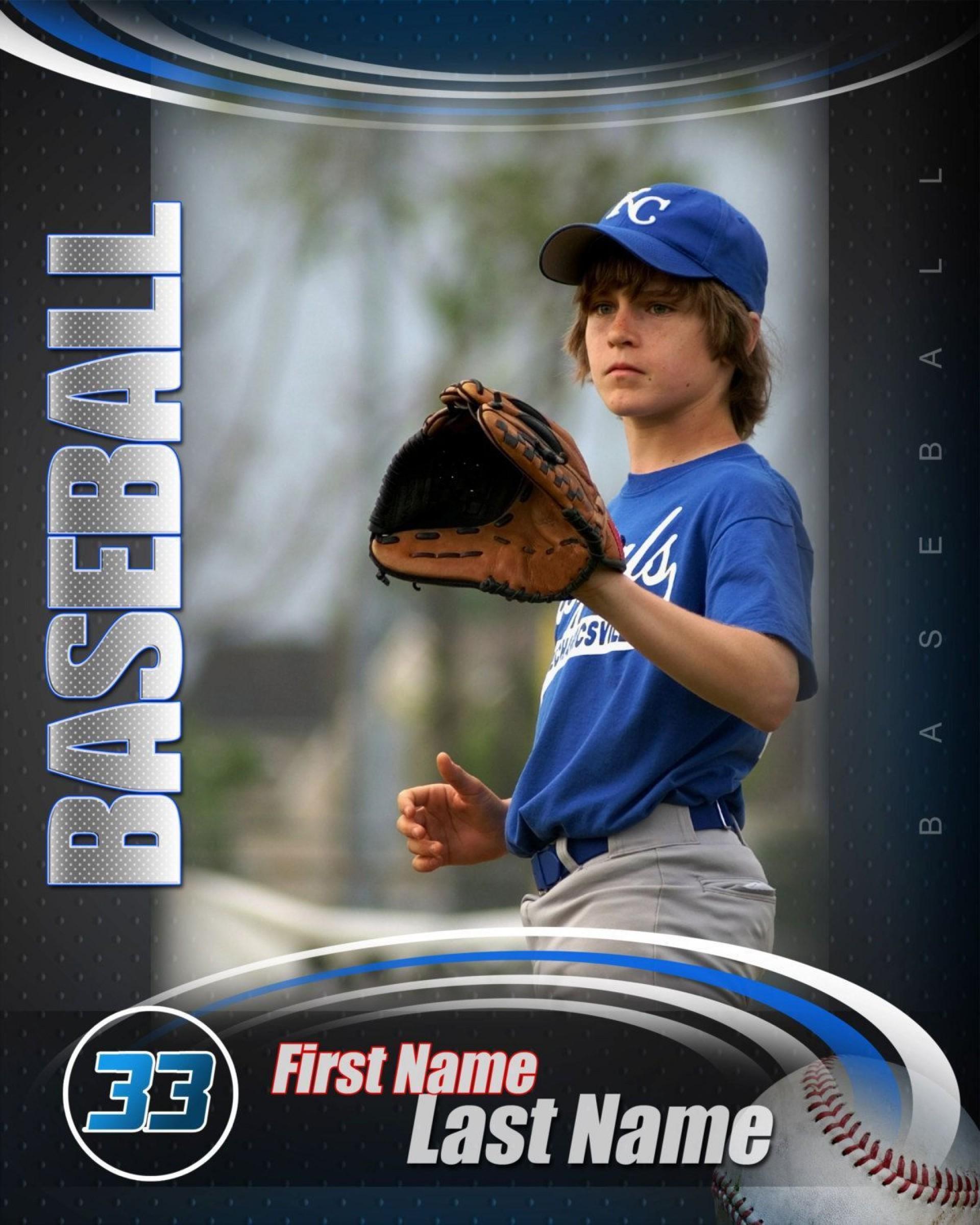 000 Imposing Baseball Card Template Photoshop Concept  Topp Free1920